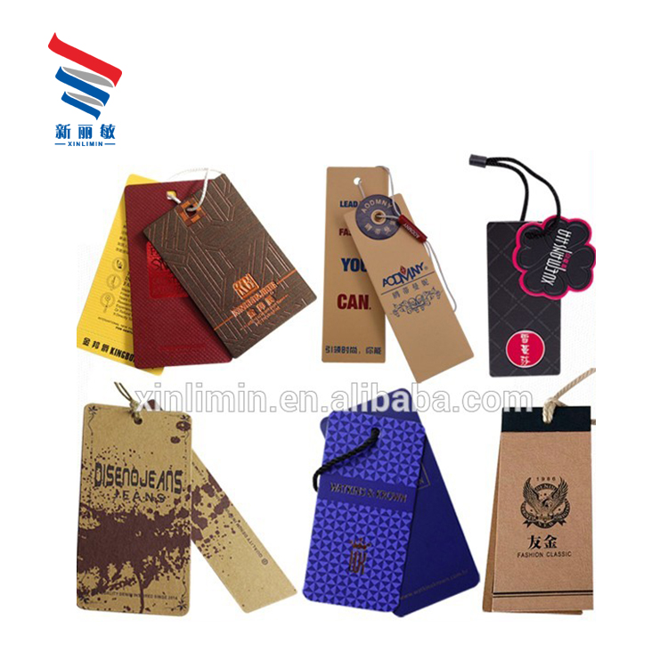 89f18c50e38 Wholesale Custom Logo Printing Fashion Eco Friendly Recycled Cardboard  Clothing Jeans Garment Luxury Hangtags With Strings - Buy Hangtag  Jeans,Jeans ...