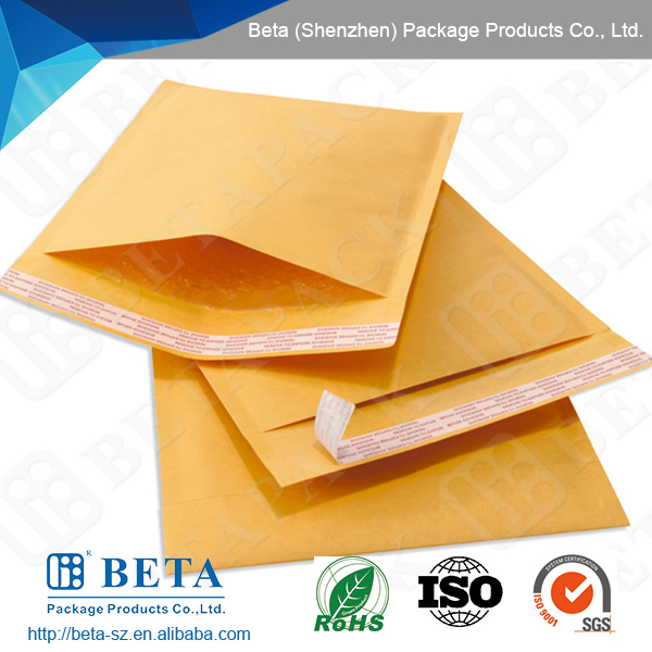 Golden Kraft Paper Bubble Mailer/bubble envelope/bubble mailer