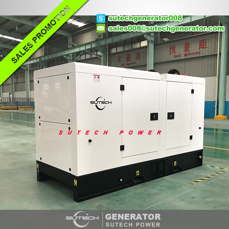 Powered by imported UK engine 1103A-33TG1, diesel genset 35 kva generator set 28 kw price