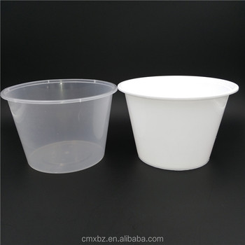 1750ML large size disposable food grade plastic container