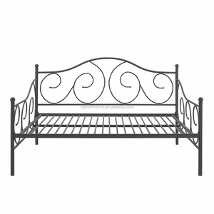 modern metal iron day bed trundle bed for sale twin size bed