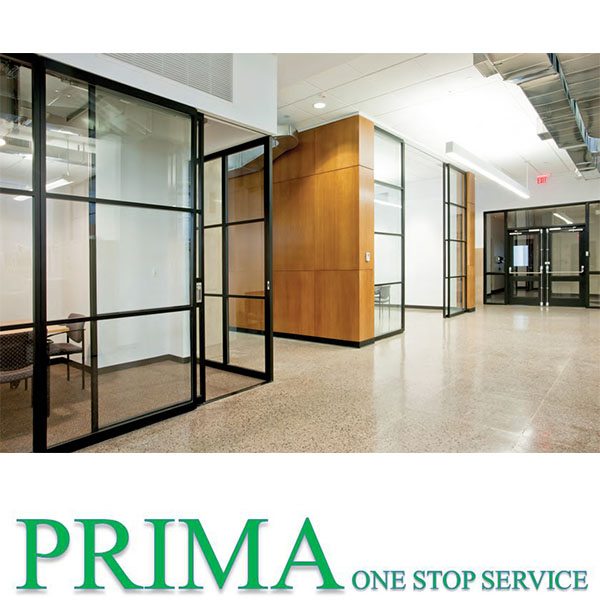 Cubicle privacy office wall glass partition wall