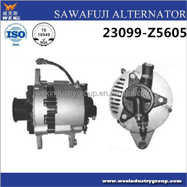 Toyota auto alternator,car alternator 12v ,24V sawafuji alternator 24V 50A for FE6A, FE6B, FE6T Engines ,23099Z5605