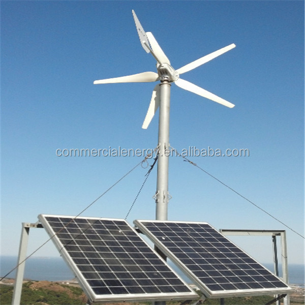 alternative energy 500w wind alternator 12v mini wind turbine for house