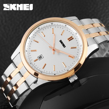 Japan Movt Quartz Watch Stainless Steel Back Original Skmei Watches Men Wrist Luxury
