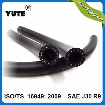 SAE J30R7 transport mineral oil textile fuel hose with ISO certified