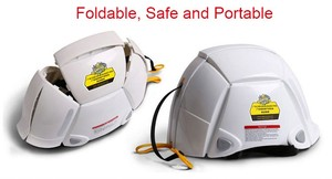 Safety Hard Hat for disaster prevention folding helmet from Japan