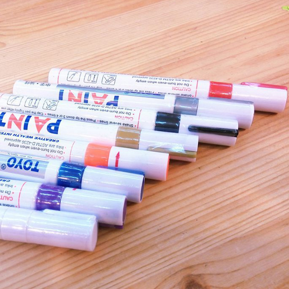 Promotional porcelain marker pen for art,can be custom paint markers