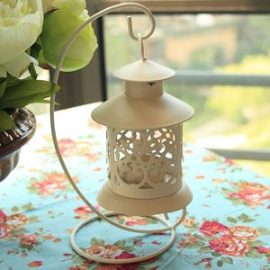 Hot sale Iron Moroccan Style Candlestick home decoration candle holder Candle Stand Light Holder Lantern free shipping