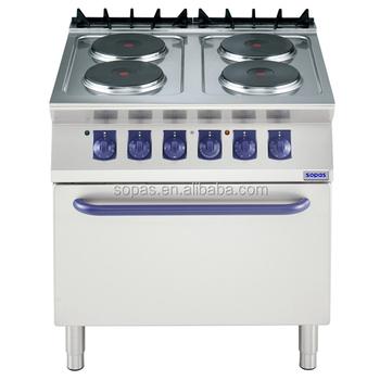 Sopas cocina comercial equipo 700 serie industrial estufa for Cocina industrial electrica