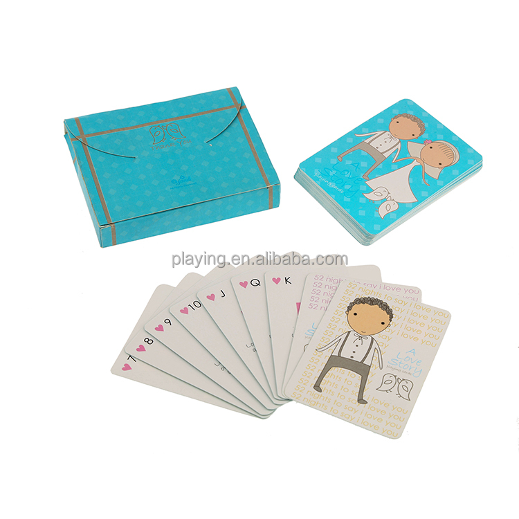 Top grade different patterns paper palying cards