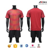Custom wholesale high quality new design cool dry men's usa club soccer jersey without MOQ