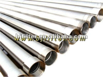 V Wire Mesh Well Casing Screen Pipe For Water Wells(factory)