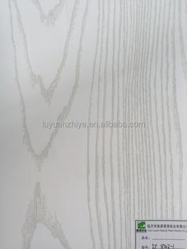 papel decorativo impregnado de melamina imitacin madera para muebles de roble blanco