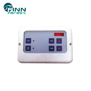 Electronic sauna steam generator controller , steam room control panel