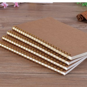 eco recycled paper kraft A4 A5 spiral notebook