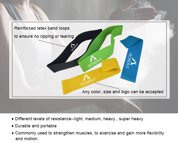 Geen off-geur gymnastiek resistance bands