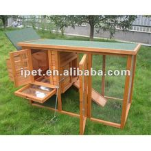 Newest High Quality Cheap 6FT Outdoor Wooden Hen House with Metal Tray and Run