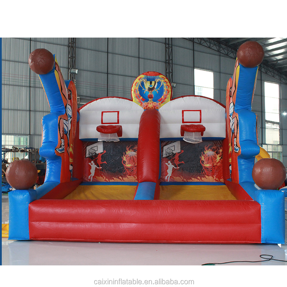 Best Price Indoor sports inflatable basketball shoot