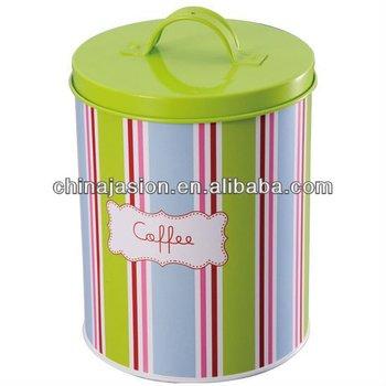 Enamel Tea Coffee Sugar Jar Canisters Kitchen Storage 3pcs Set Bo Bins Metal Cake Tin Tins For Product On Alibaba