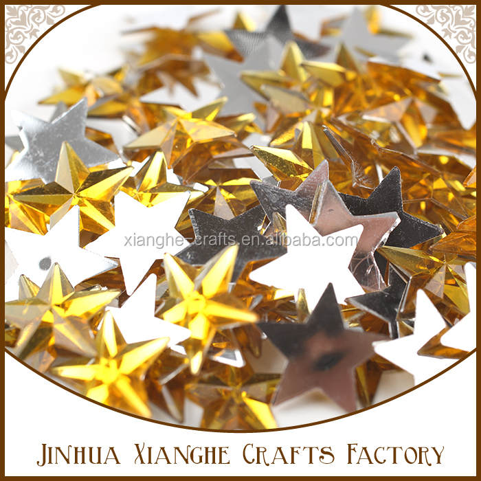 DIY star christmas set scrapbooking wall sticker for decoration
