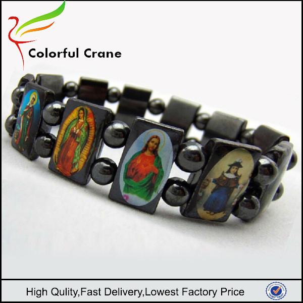 China Fashion Catholic Saints Bracelet, China Fashion Catholic