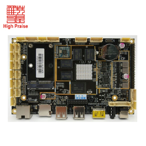 Rockchip 3288 Android board with 6 USB 6 RS232 for Kiosk Pos terminal