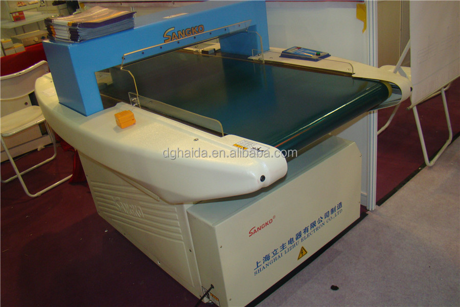 Automatic Needle Metal Detector Machine Price For Textile