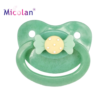 Original factory ABDL BPA free PP silicone with big size adult baby pacifier
