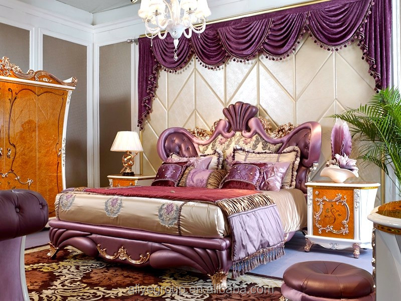 Arabic Style King Bedroom Set Furniture Unique Bedroom Furniture Set Foshan  Mbk-4838 - Buy Bedroom Furniture Set,King Bedroom Set Furniture,Bedroom ...
