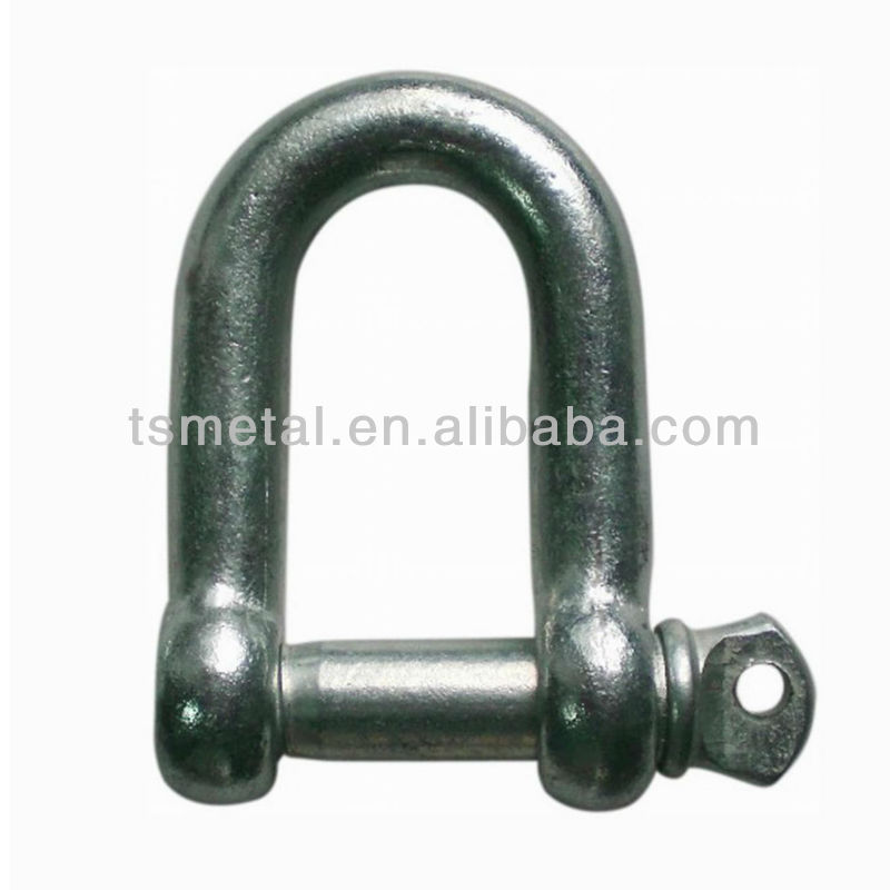 Forged Steel Wide D Shackle For Lifting and Rigging <strong>Hardware</strong>
