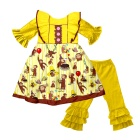 toddler valentines boutique clothing outfits girls' adorable ruffle summer sets