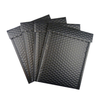 Wholesale Strong Self-adhesive Seal Black Color Custom Courier Air Wrap Bubble Bags