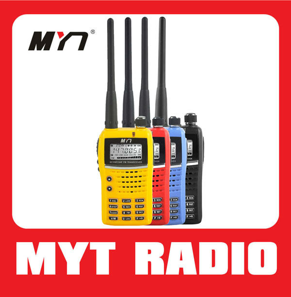 MYT-Q1 portable two way radio sets with CTCSS DCS TOT function FM radio