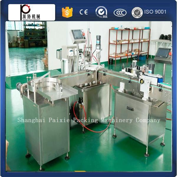 CE approval trade assurance new condition vial filling machine with rubber stopper
