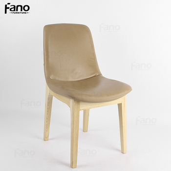 upholstery fabric hotel banquet chair soft relax wood leather chair