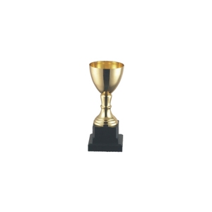 Four sizes students matches awards small gold bowl trophies 123ABCD golden trophy cup