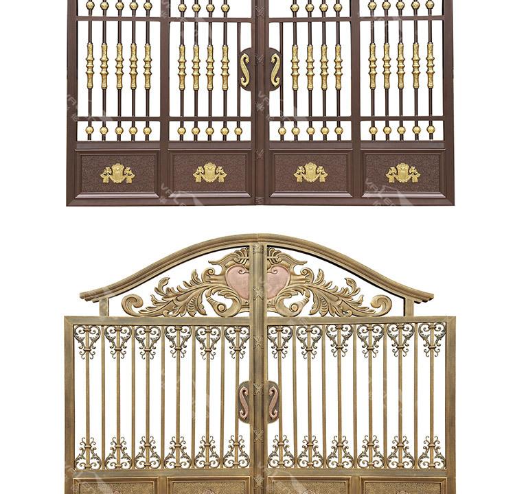 Main Gate Design Door For Luxury Villas Private Apartments