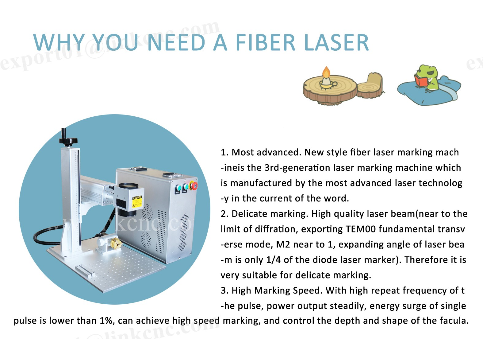 New and surprise fiber laser head raycus fiber laser 20w 30w 50w fiber laser cutter