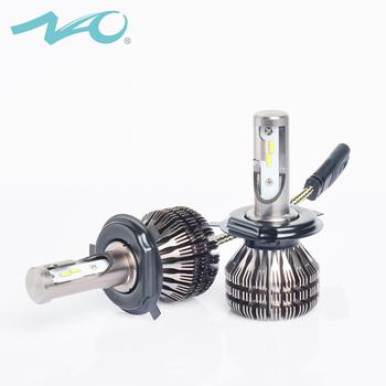 Nao /ilight Factory Fanless Design V5 Led Headlight Bulbs 25w 3000lm H1 H3  H7 H11 H13 Hb3 Hb4 9004 9007 9003 H4 H7 Car - Buy Car Led Headlight,Fanless