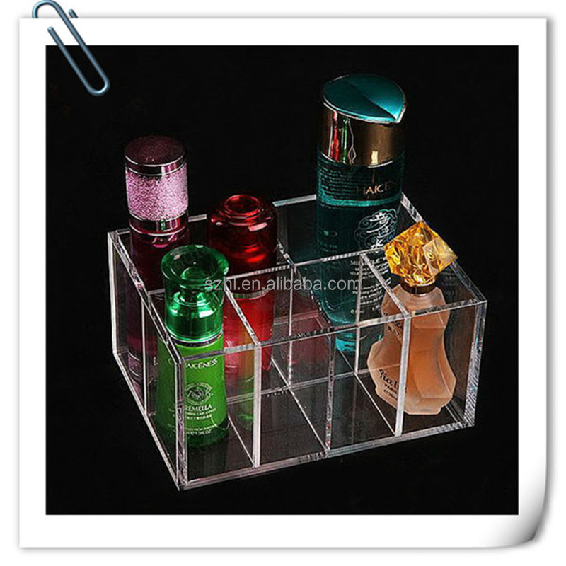 Made In China Acrylic Clear Cube Makeup Organizer,Acrylic Deco ...