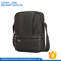 10.1'' man shoulder bag laptop messenger bag with tablet compartment