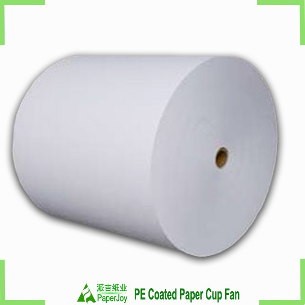 virgin asia pulp paper with PE coated