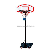 Portable basketball system adjustable from 165cm to 205cm,Backboard Basketball hoop