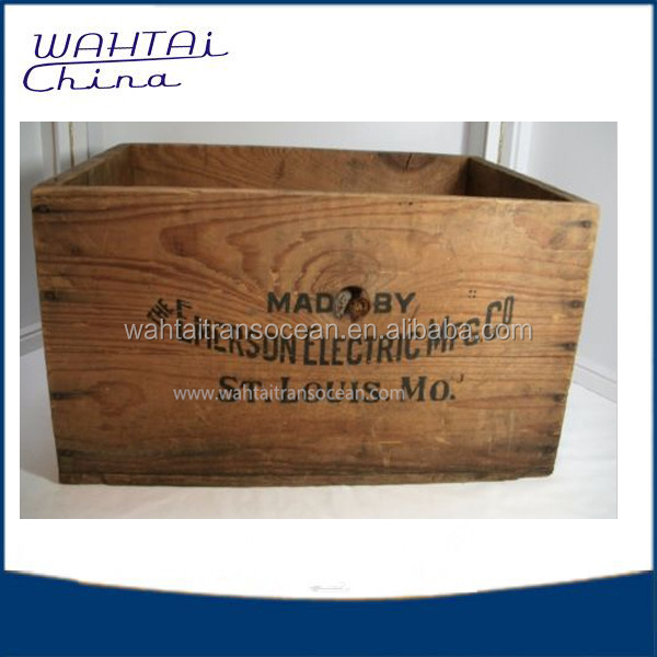 China solid wood box and crate with good quality