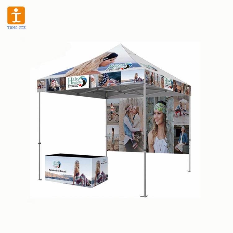 Exhibition advertising canopy aluminum 2.5m*2.5m frame pop up <strong>tent</strong>