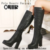 half boots ladies fashion style shoes in stock PQ3224