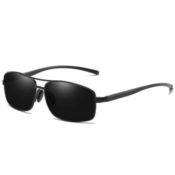 e043862ff HDCRAFTER Brand Polarized Men's Vintage Sunglasses Aluminum Frame Sun Glasses  Men Goggle Eyewear Accessories For Men