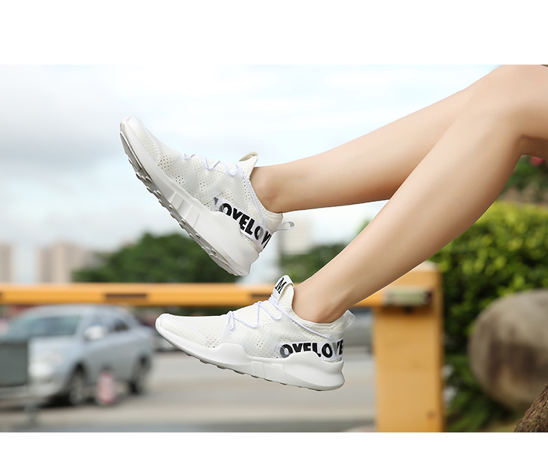 New Arrive Cool Light Mesh Running Shoes Comfortable Breathable Athletic Sport Shoes