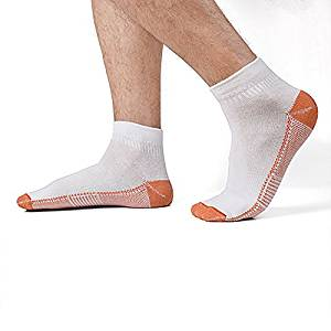 9ec2f9178f Get Quotations · Dr.Copper 2-PACK Unisex Copper-Infused Compression Ankle  Length Socks With Added